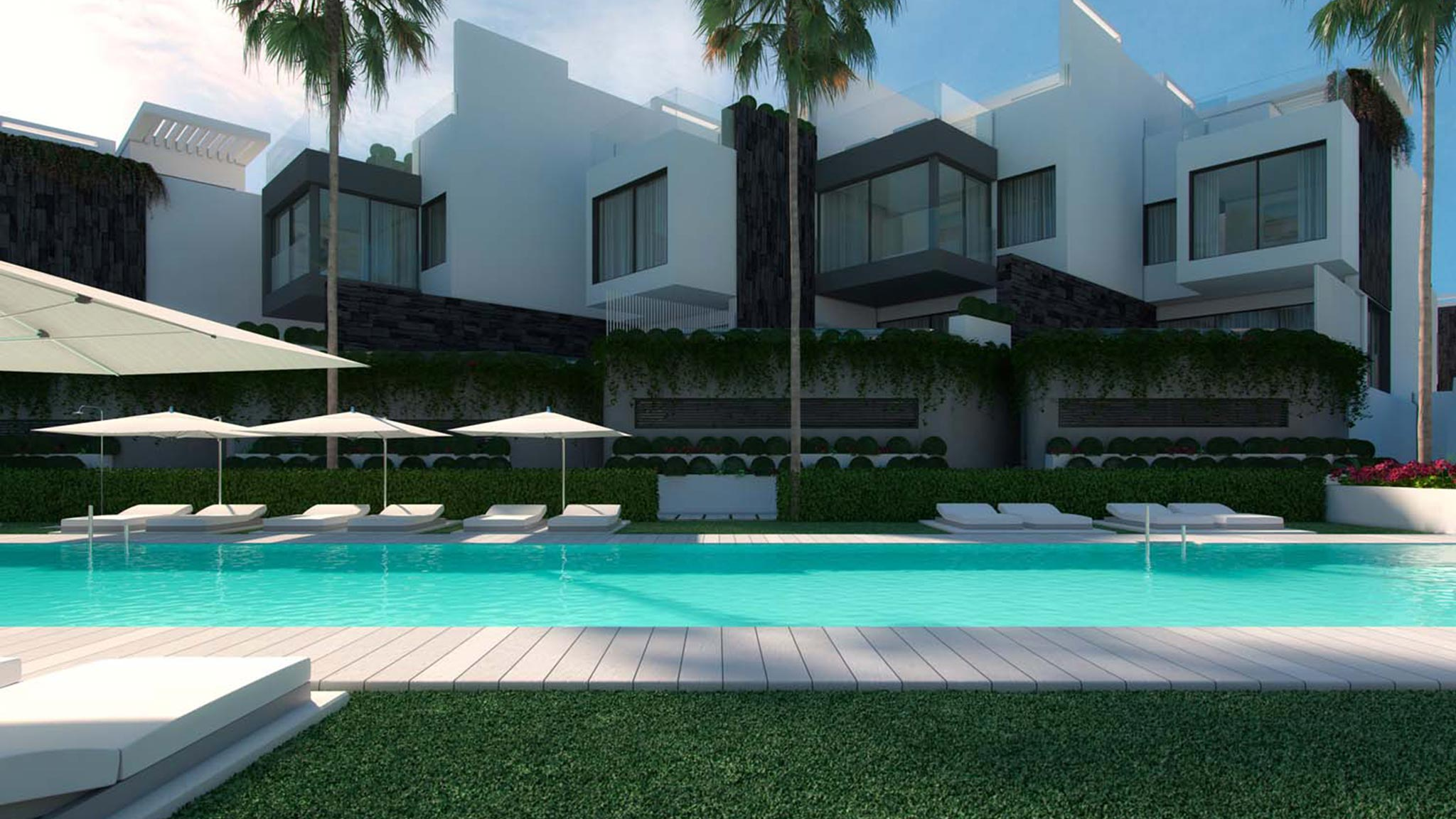 Amazing beachfront development in Estepona