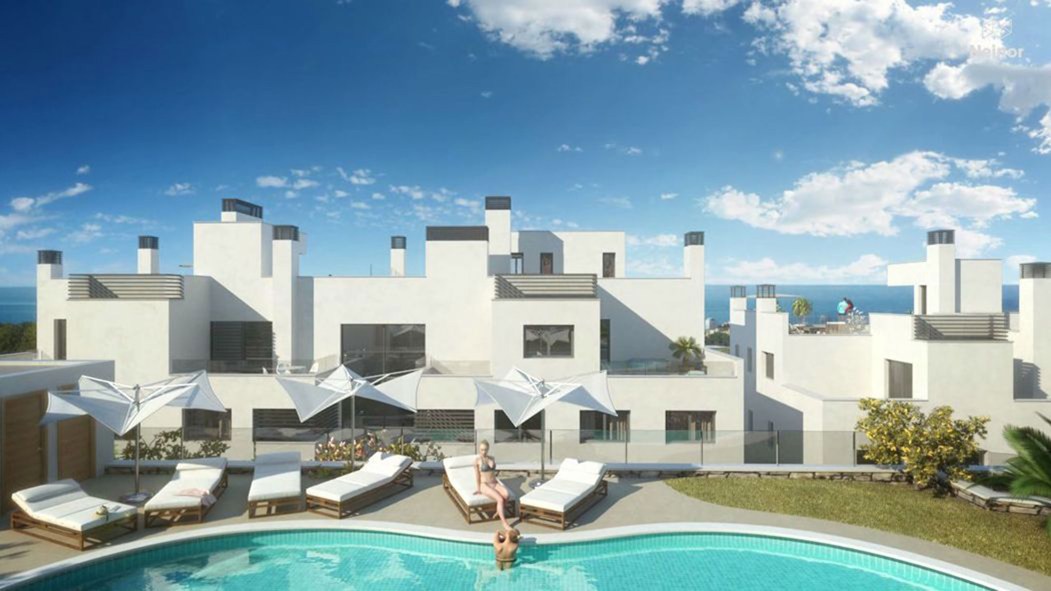Modern apartments in Marbella