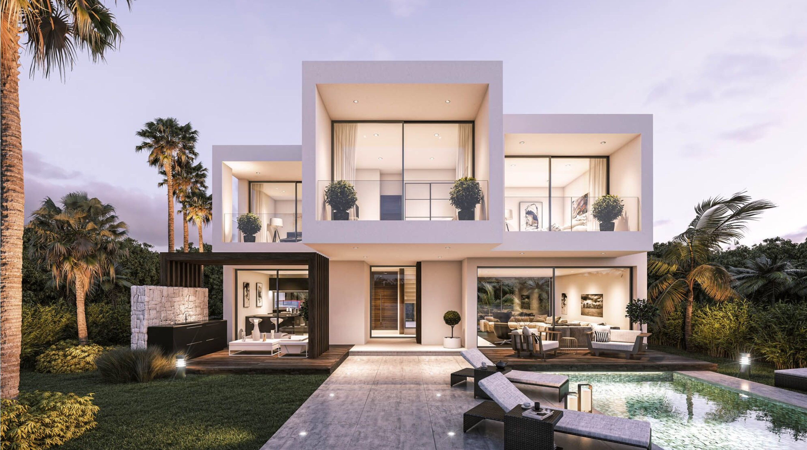 ICONIC MODERN VILLAS A 200m FROM THE BEACH ESTEPONA