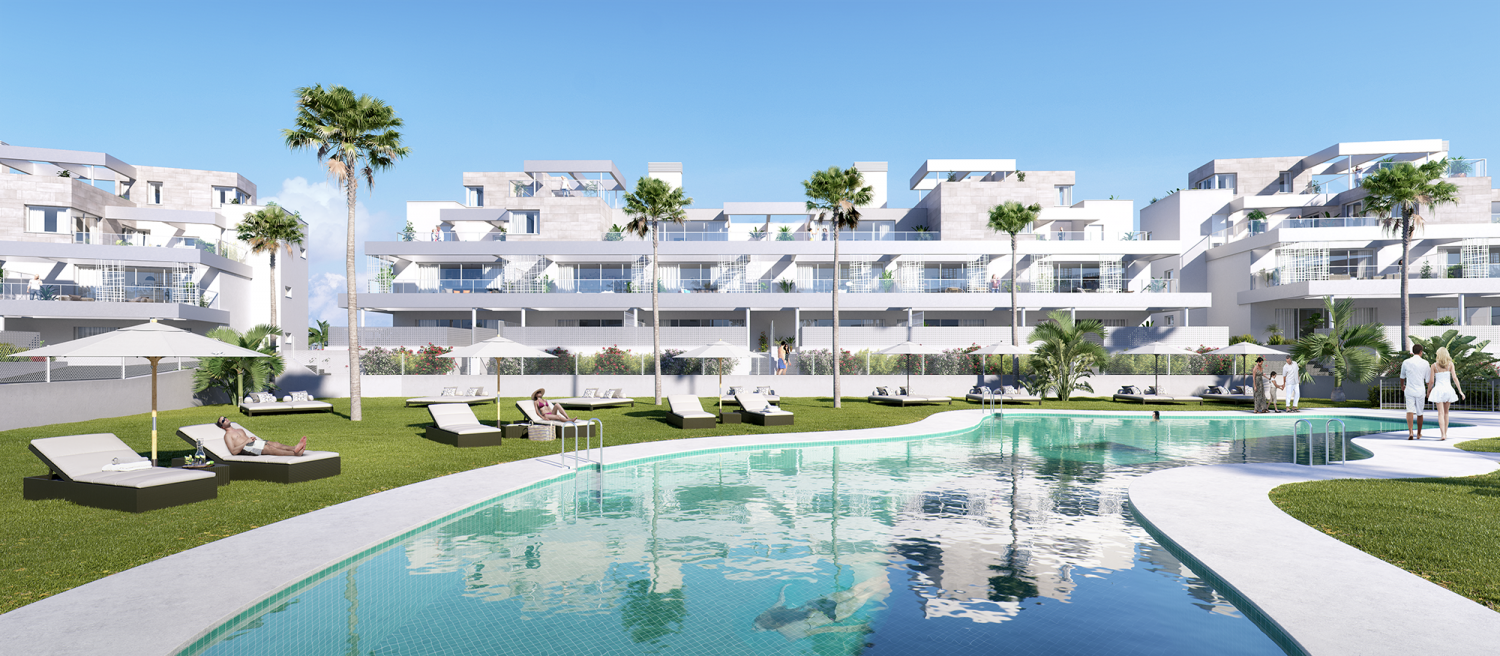 Great modern apartment in Estepona