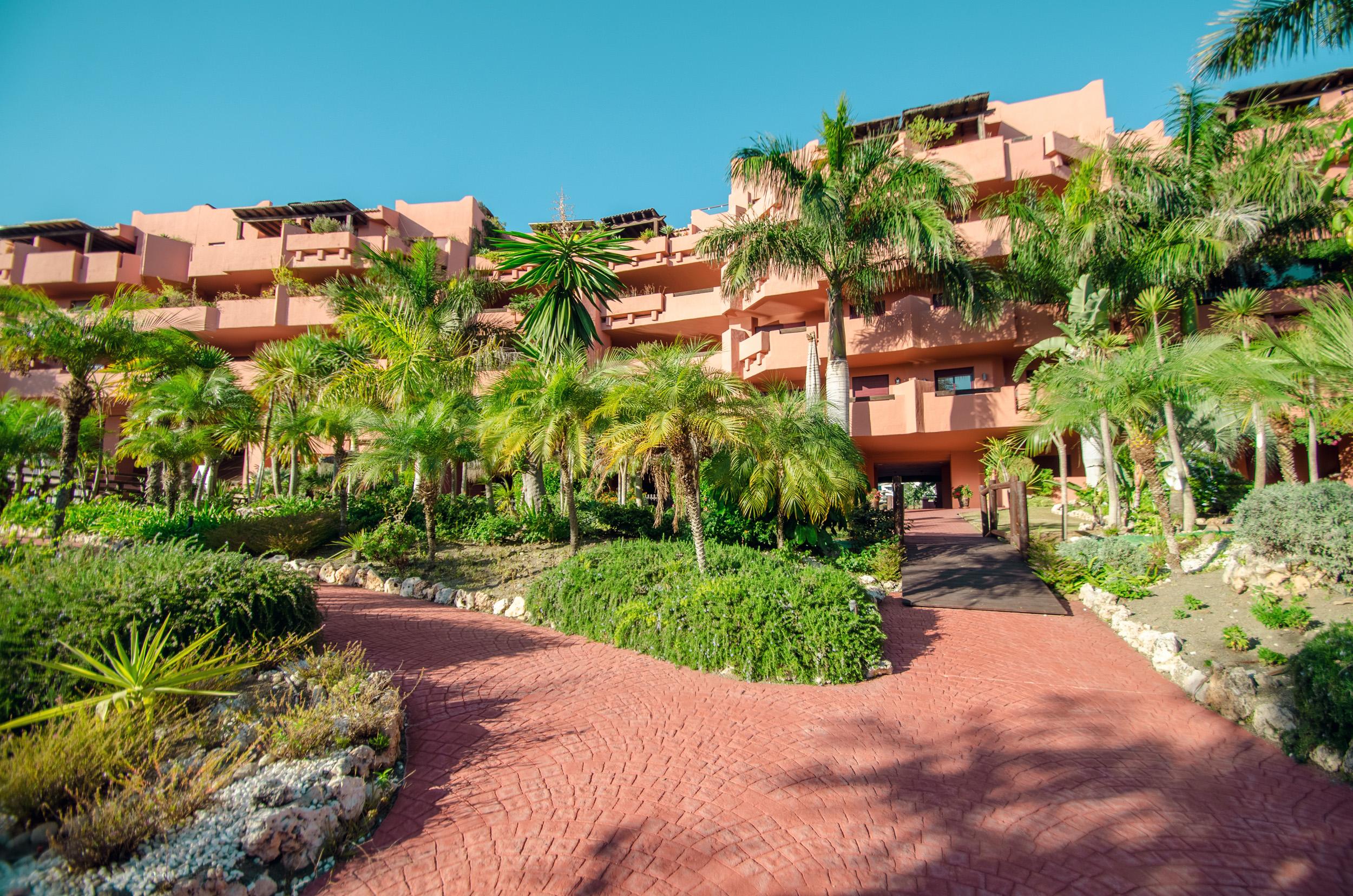 Beachfront urbanization in Estepona