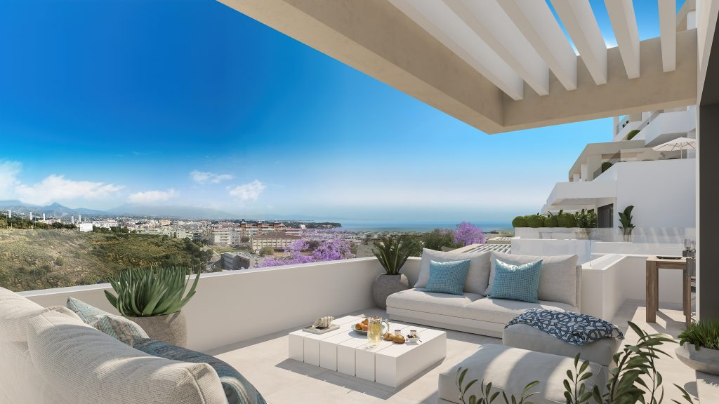 Superb design apartment in Estepona
