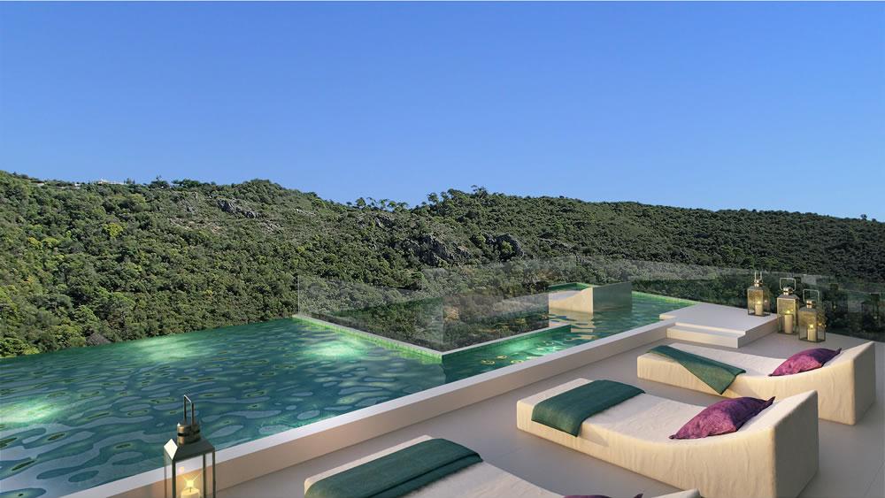 Pure nature apartment in Benahavis