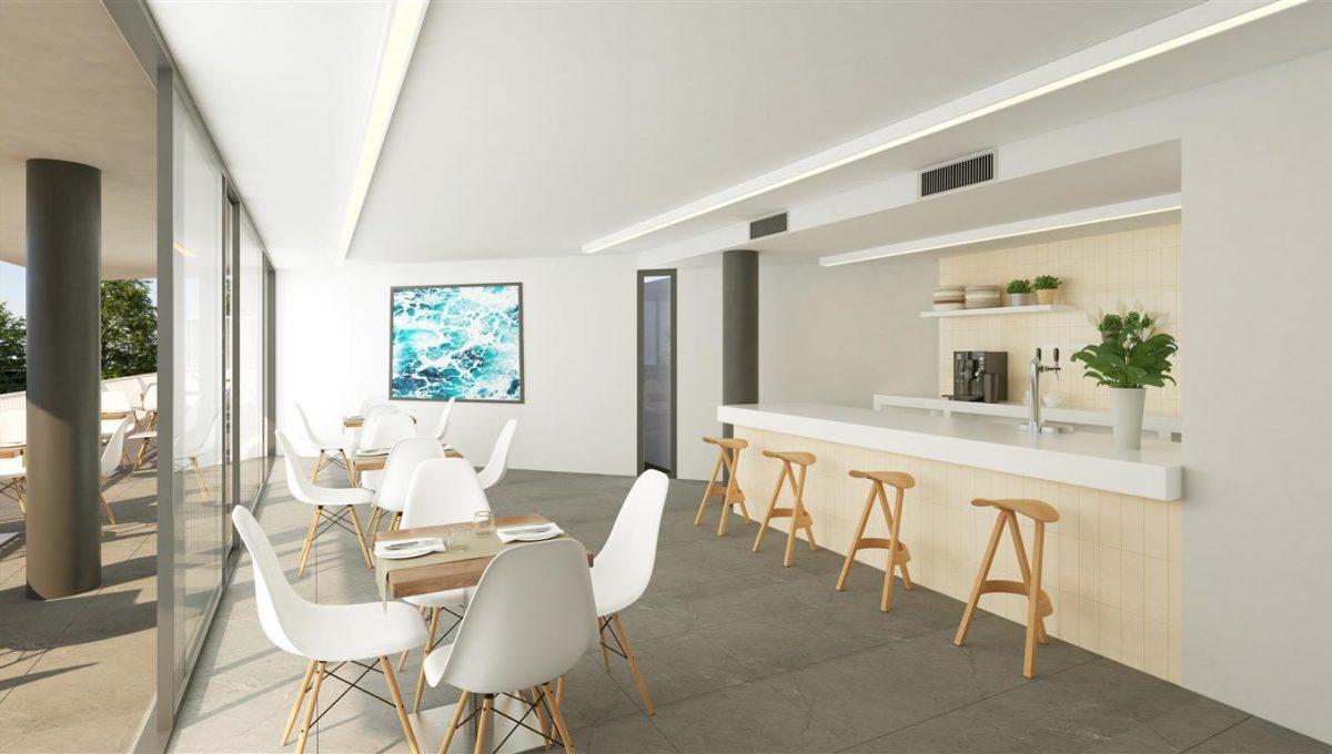 Club interior bar