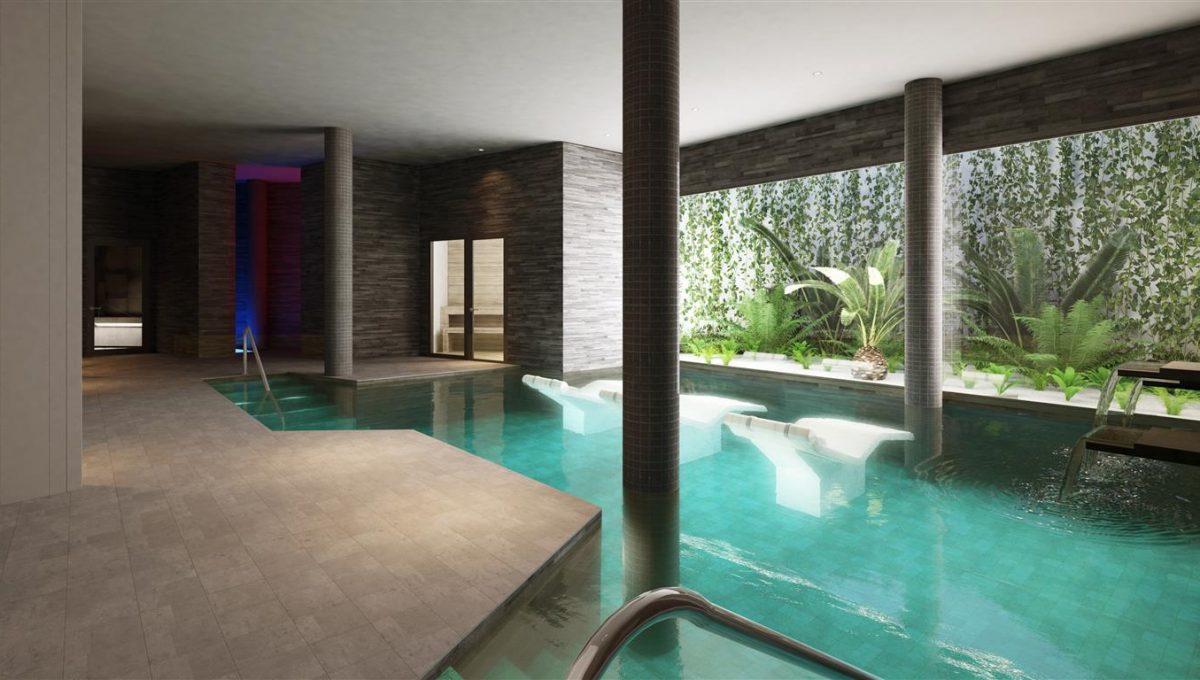 Club interior spa