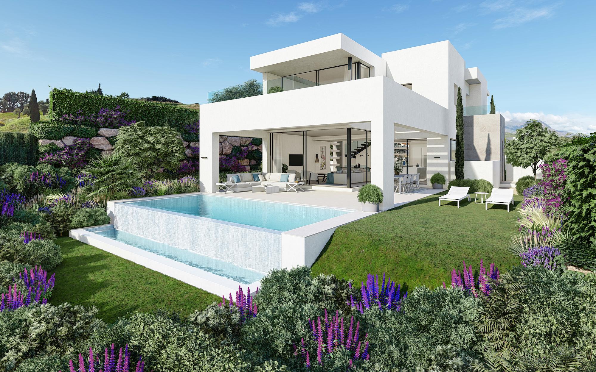 Contemporary Villa in Estepona Golf