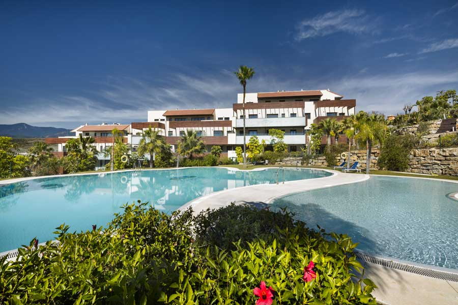 Amazing apartments in Estepona