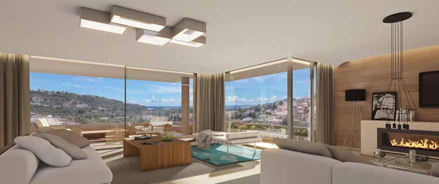 B3_Botanic_Apartments_Atico_Salon